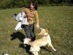 Zena so psom
