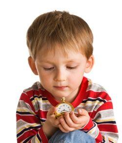 Ako deti objavujú čas?