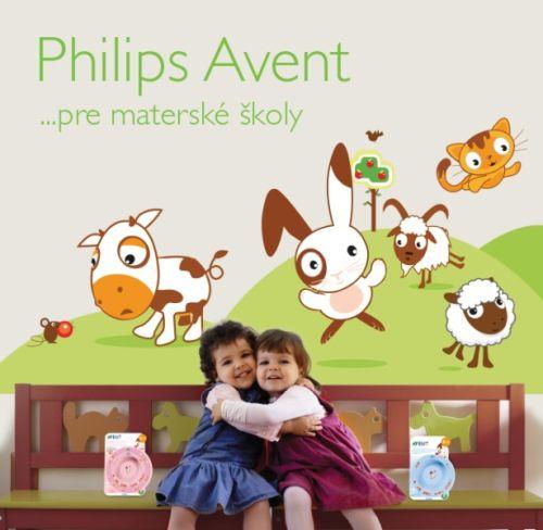 Aj vaša škôlka môže získať darčeky od Philips AVENT