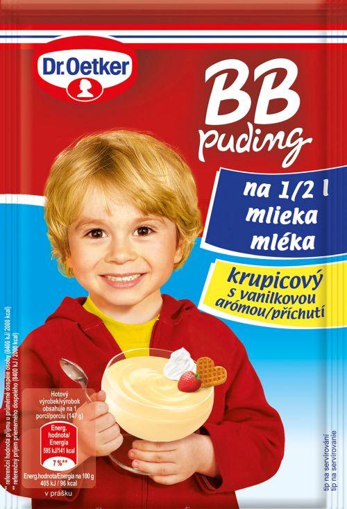 BB puding krupicový –  novinka s chuťou detstva