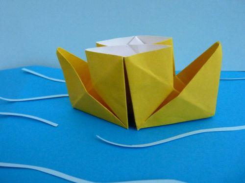 Ako poskladať z papiera parník (origami)