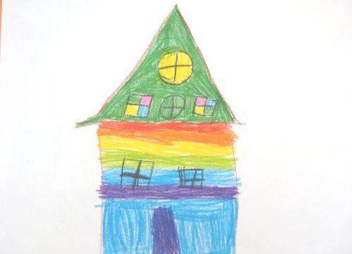 Čo prezrádza detská kresba domu?