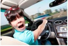 Žena za volantom
