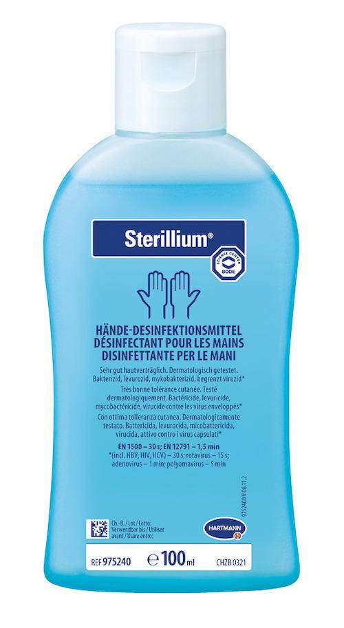 Najúčinnejšia alkoholová dezinfekcia rúk - Sterillium