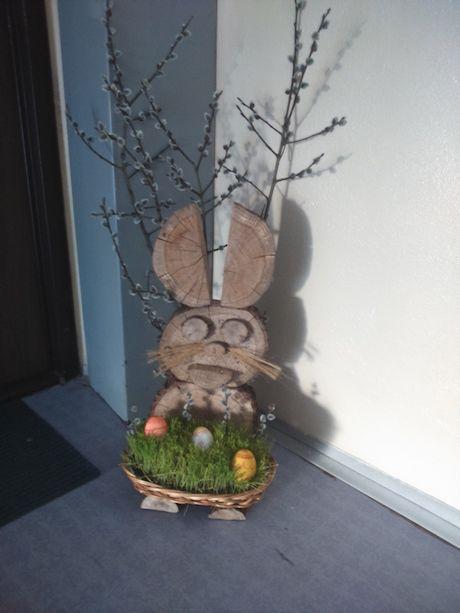 Veľkonočný zajac z dreva (15)