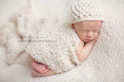 Fotografie novorodencov Amandy Andrews