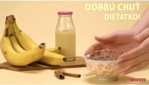 Červená ryža a banánové pyré (od 8 mesiacov)