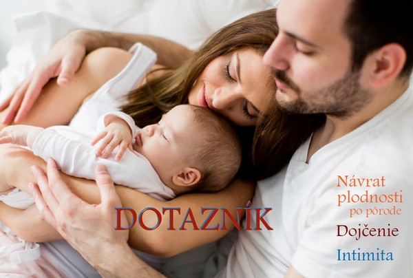 Návrat plodnosti po pôrode - anonymný dotazník