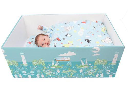 Prečo spia fínske bábätká v papierových krabiciach? (+video)