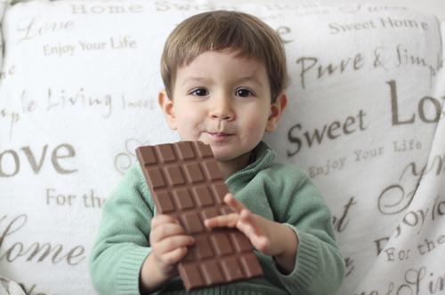 Tvoje deti jedia sladkosti? Nieee...