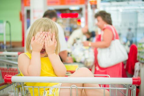 Nakupovanie s detmi