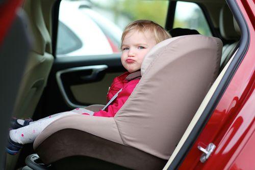 Detské autosedačky sú povinné.