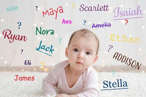 Najpopulárnejšie mená pre bábätká vo svete