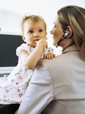 Môžem mať príjem na materskej?