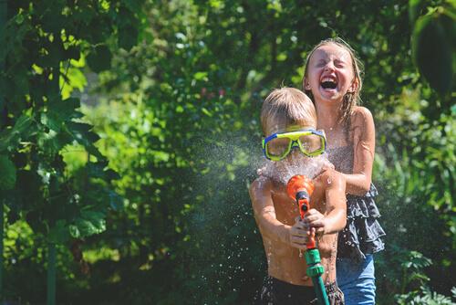vodne hry pre deti