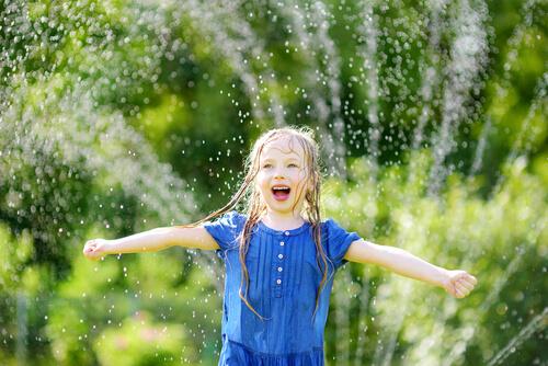 voda a hra