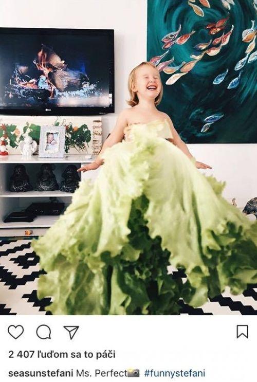Ako netradične odfotiť dieťa? Oblečte mu brokolicu