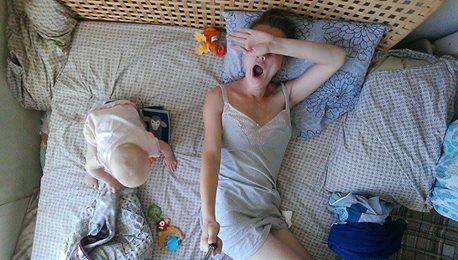 Selfíčka mamy: takto vyzerá každý deň na materskej