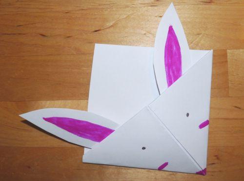 Biely králiček – záložka do knižky