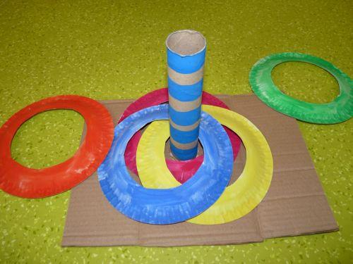 Tvorivo s deťmi: Kruhy na hádzanie