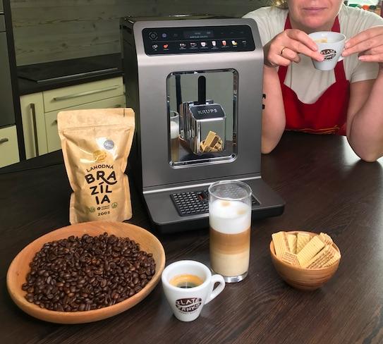Kávovar Krups Evidence One - podozrivo jednoduchý