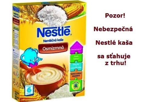 V kaši Nestlé je nebezpečný atropín. Sťahuje sa z trhu!
