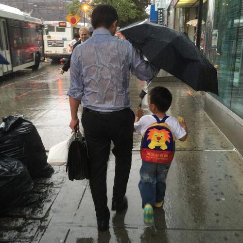 """Fotka: """"Toto znamená byť ockom"""""""