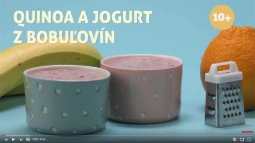 Quinoa a jogurt z bobuľovín (od 10 mesiacov)