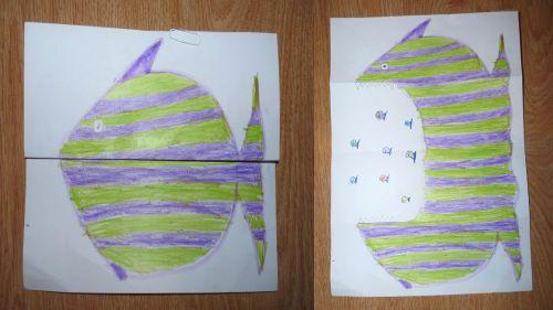 Papierová skladačka: Malá ryba skrýva veľkú
