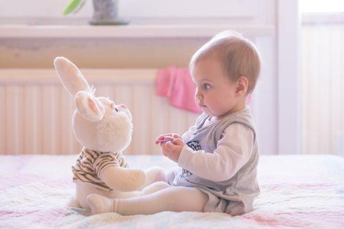 Dieťa sa učí rozprávať...