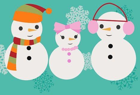 Najmilšie básničky o snehuliakoch