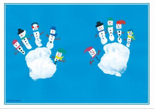 6 inšpirácií na vianočné pohľadnice s deťmi