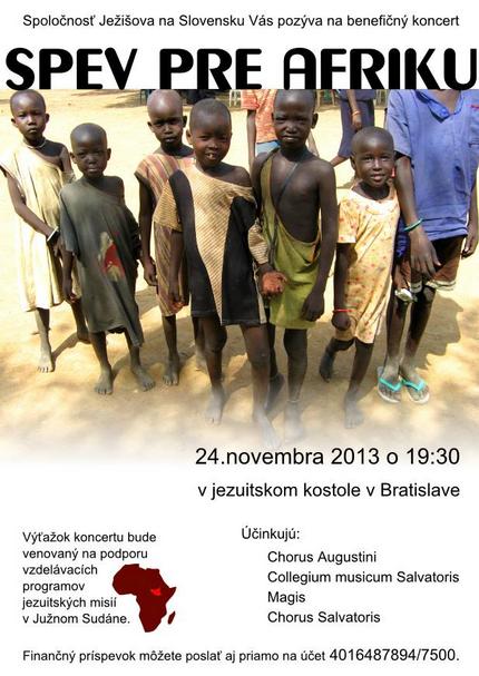 Spev pre Afriku