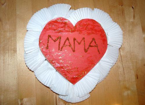 Srdce pre mamičku