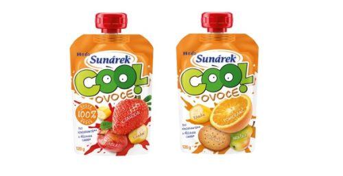 Vychutnajte si leto s novými kapsičkami Sunárek Cool ovocie !