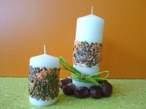 Tvoríme s deťmi: zdobenie sviečky