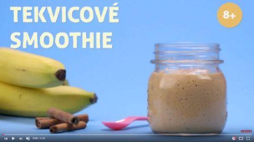 Tekvicové smoothie (od 8 mesiacov)