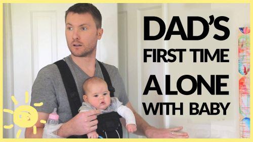 Video: Tato ostal sám doma s bábätkom