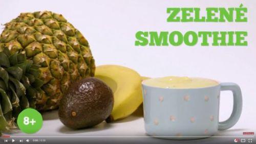 Zelené smoothie (od 8 mesiacov)